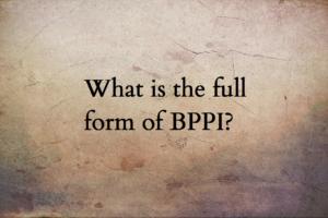 BPPI full form