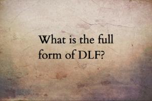 DLF full form
